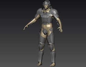 3D Model of Combat armor Standard Sturdy Heavy from 1