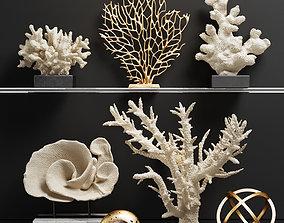 3D coral Decor Set 43