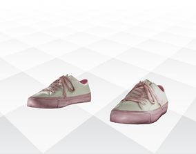 3D model realtime Shoes Sandals and Slippers