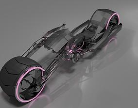 3D asset Motorcycle Concept