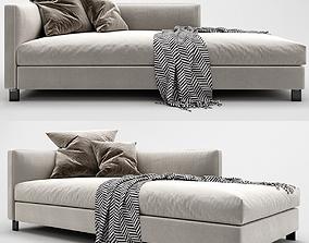 Lucas Molteni Chaise Lounge 3D