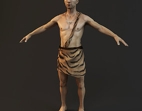 primitive ancients forefathers hominids 3D model