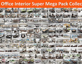 105 Office Interior Super Mega Pack Collection 3D