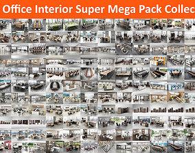 105 Office Interior Super Mega Pack Collection 3D