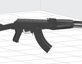 3D printable model AK-47
