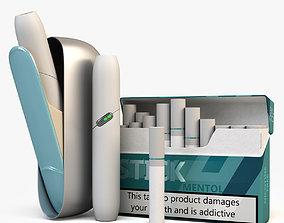 Alternative smoking system IQOS 3D model