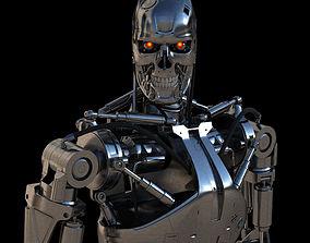 3D Terminator T-800 Endoskeleton