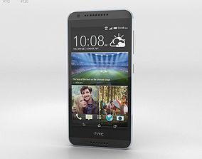 3D model HTC Desire 620G Milkyway Gray