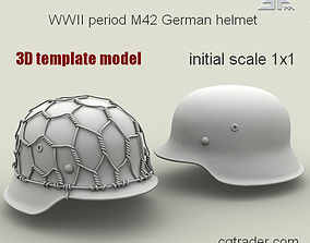 3D model SPM-002-M42-02Template WWII period M42 German