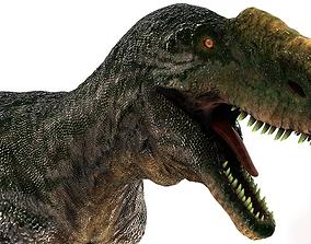 Dinosaur Monolophosaurus 3D model