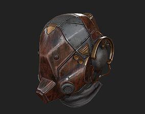 Scifi helmet 3D model VR / AR ready