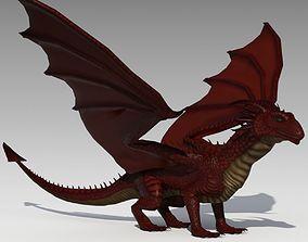 Dragon Animated 3D model