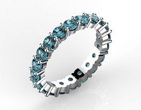 Eternity ring 3 mm 3D printable model