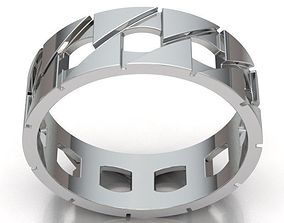 3D print model Ring band man REF-82