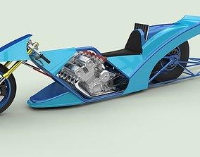 Top fuel bike 3D