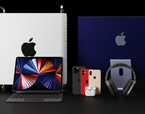 Ultimate Apple All-Time Products Collection Bundle 3D
