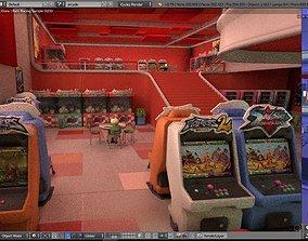 Blender Scene 09 - interior 3D