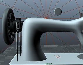 Sewingmachine 3D print model
