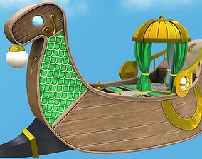 Royal Viking Ship 3D model