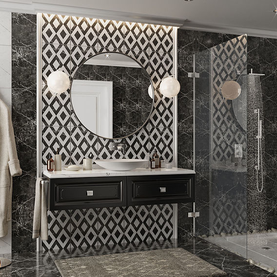 Bathroom in a private house