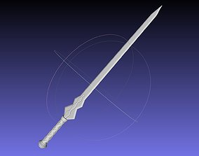 Sword Art Online Konno Yuuki Sword Printable Assembly