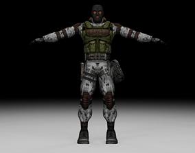 Stalker - Monolith Soldier 05 3D asset
