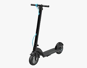 3D model Scooter electric 01
