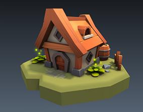 3D model Pieci house