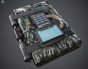 C4 RDX Bomb 3D model