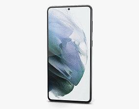 Samsung Galaxy S21 plus 5G Phantom Black 3D model