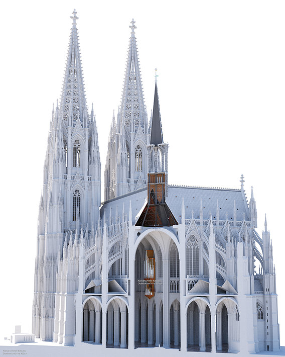 Cologne Cathedral - work in progress