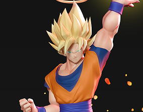 3D printable model Goku Super Saiyan