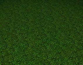 ground grass tile 05 3D