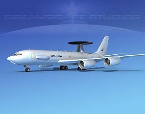 3D Boeing E-3C AWACS NATO
