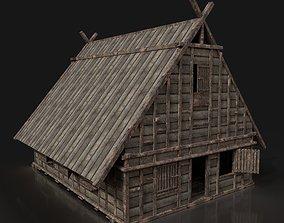 3D model Next Gen AAA FANTASY MEDIEVAL WOODEN TOWN HOUSE 2