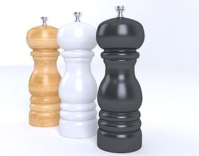 3D model Salt and Pepper Mill