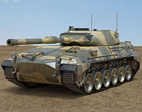 Tanque Argentino Mediano 3D