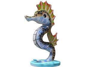 3D print model Seahorse Alebrije