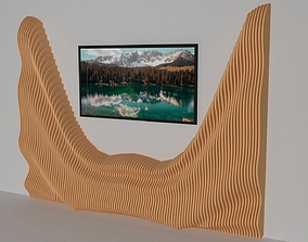Parametric Wall 3D Model