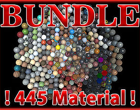 PBR Material Bundle Vol1 - 445 Material 3D model