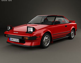 3D Toyota MR2 1984