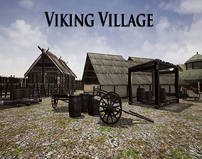 Viking Village for Unreal 3D asset