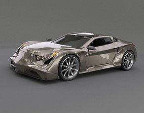 3D model Speedtrooper concept car