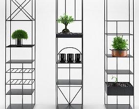 3D Estantes e armarios