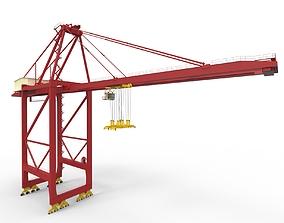 Container Crane 65 TN 3D asset