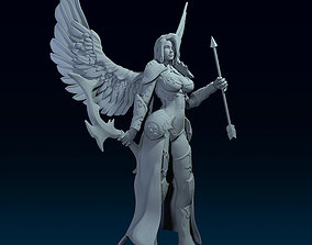 3D print model Female Archer Angel