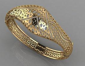 GC GOLD BRC040- Diamond BRACELET 3D printable model