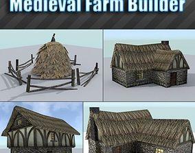 3D model Medieval Farm Builder