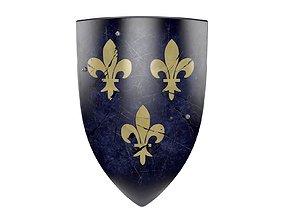 knight Medieval Shield 3D model