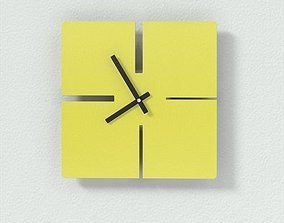 Lines Clock 3D model